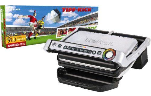 Tefal OptiGrill GC702D + Tipp Kick Tischfußballspiel für 88€ (statt 118€)