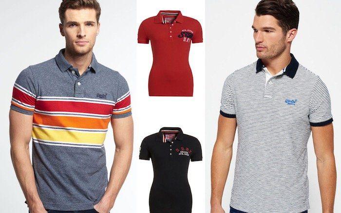 Superdry Damen und Herren Poloshirts versch. Modelle und Farben bis 2XL für je 20,95€