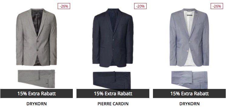 Peek & Cloppenburg* mit 15% Extra Rabatt auf ausgewählte Herren und Jungs Kleidung