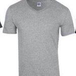 6er Pack Gildan T-Shirts im Softstyle mit V-Ausschnitt für 18,95€ (statt 23€)