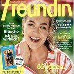 """26 Ausgaben der """"Freundin"""" für 78€ inkl. 75€ Amazon Gutschein"""