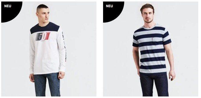 20% Rabatt auf Levis Jeans, Pullover und Co. für Damen und Herren