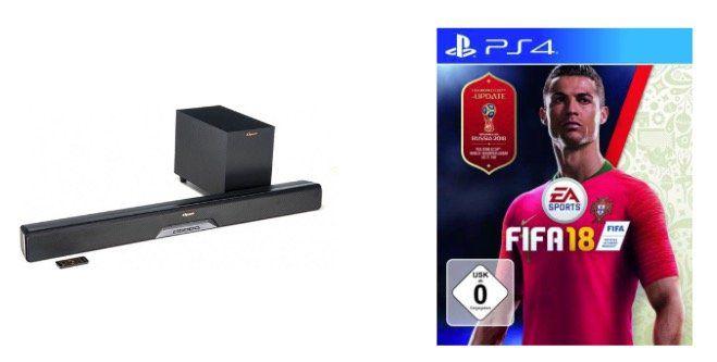 Rakuten Sale mit 11% auf ausgewählte Produkte bis 18 Uhr   z.B. Fifa 18 (PS4) für 25,80€