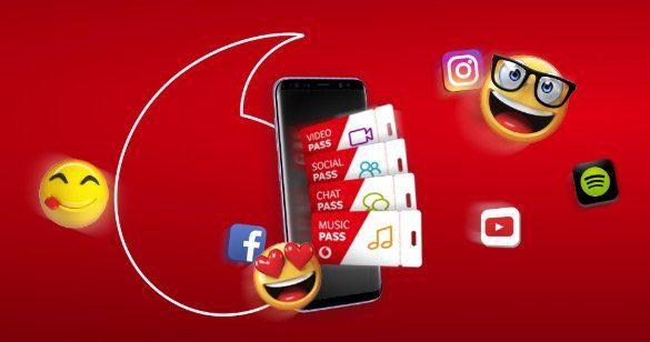 Vodafone Red M mit 14GB LTE + TOP Smartphone + Vodafone Pass gratis + GigaKombi Vorteile   nur Bestandskunden!