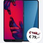 Huawei P20 Pro für 79€ + Vodafone Smart L+ mit 5GB LTE für nur 36,99€ mtl. + gratis Moleskine Smart Writing Set