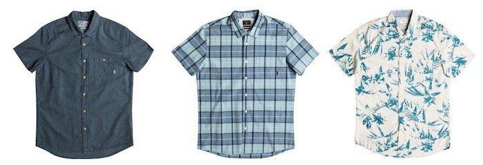 Quiksilver Sale für Herren und Jungen mit bis zu 60% Rabatt bei vente privee   z.B. Hemden für 15,90€