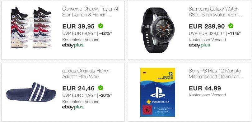 15% Rabatt für eBay Plus Mitglieder (Test Monat reicht) auf über 500 eBay WOW Angebote