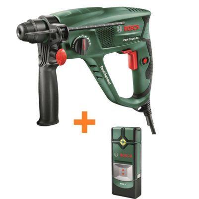 Bosch Bohrhammer PBH 2600 RE + Ortungsgerät PMD 7 für 79,99€