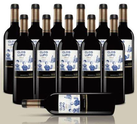 Clos Lupo (Reserva 2014)   12 Flaschen trockener spanischer Rotwein für 49,99€