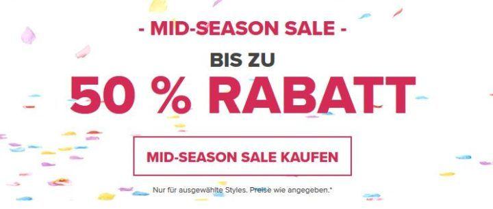 Crocs Mid Season Sale mit bis zu 50% Rabatt