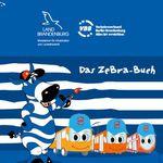 Das Zebra-Buch (Mal- und Beschäftigungsbuch) gratis anfordern