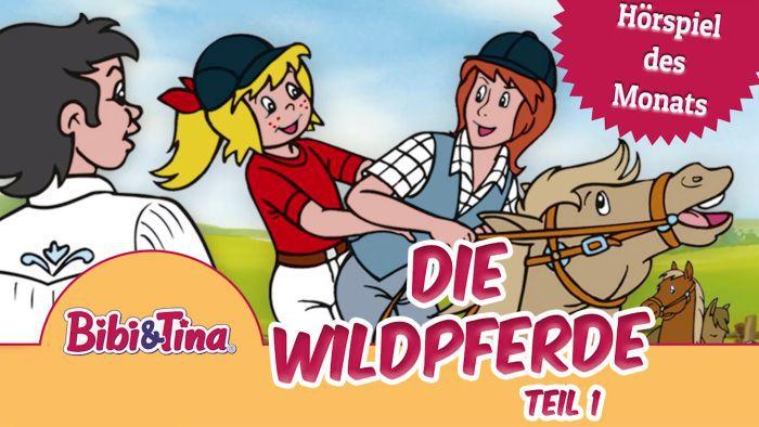 Bibi & Tina – Die Wildpferde Teil 1 und 2 (Folgen 13/14, Hörspiel) kostenlos