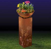 EASYmaxx LED Dekosäule 72cm + abnehmbare Pflanzschale Ø34cm [B Ware] für 34,99€ (statt 65€)