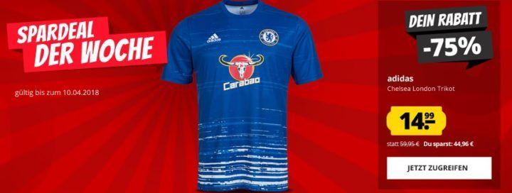 FC Chelsea London adidas AX701 Herren Pre Match Trikot ab 14,95€
