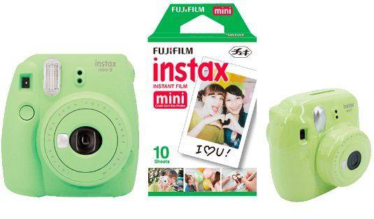 FUJIFILM Instax Mini 9 Sparset Sofortbildkamera ab 94€ (statt 119€)