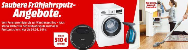 Media Markt Frühjahrsputzen: günstige Reinigungsgeräte, Waschen & Trocknen