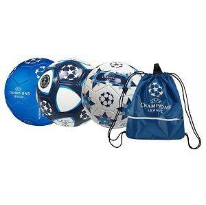 3x UEFA Champions League Fußbälle + Turnbeutel für 19,99€ (statt 57€)