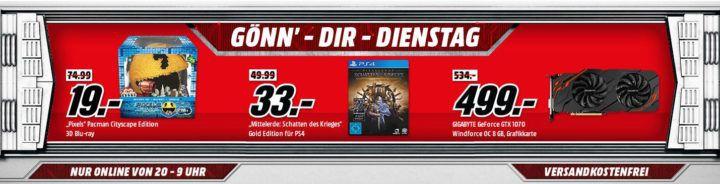 NINTENDO Nintendo Classic Mini für 77€ uvm. im Media Markt Dienstag Sale
