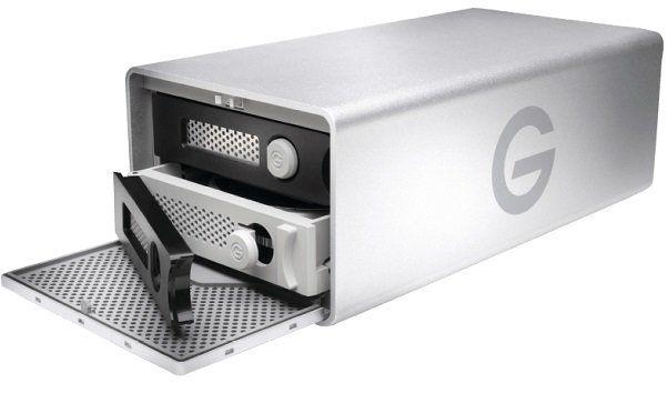 G TECHNOLOGY G RAID externes Speichersystem mit Thunderbolt und 20TB für 800,99€ (statt 951€)