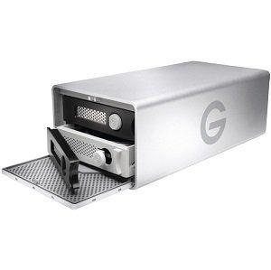G TECHNOLOGY G RAID externes Speichersystem mit Thunderbolt und 8 TB für 444€ (statt 569€)