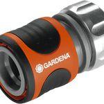 """Gardena 8168-20 Schlauchstück Premium (13mm, 1/2"""") mit Wasserstop für 4,50€ (statt 8€)"""