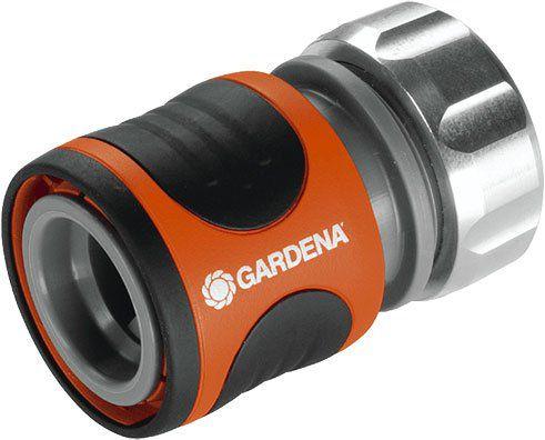 """Gardena 8168 20 Schlauchstück Premium (13mm, 1/2"""") mit Wasserstop für 4,50€ (statt 8€)"""