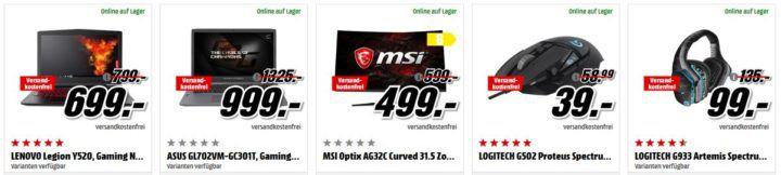 GIGABYTE GeForce GTX 1050 Ti 4GB für 175€ uvm. im Media Markt Dienstag Sale