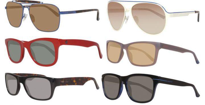 GANT Marken Herren Sonnenbrillen viele Modelle mit 100% UV Schutz für je 39,99€
