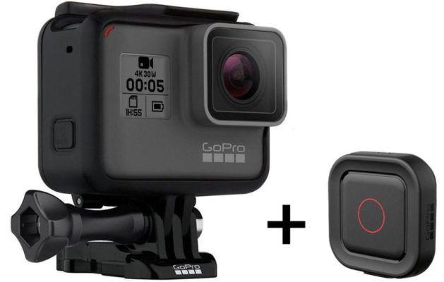 GoPro Hero5 Black Actioncam incl. Voice Remo Fernbedienung für 277€