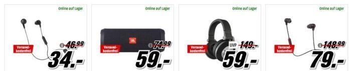 Media Markt Mega Marken Sparen: günstige Artikel von Lenovo, Huawei, JBL und Profi Cook