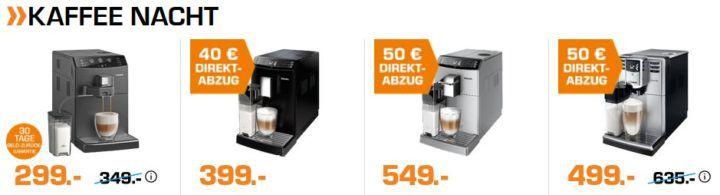 Saturn Late Night: günstige Kaffee  Maschinen, Smartphones und DVB T2 Angbeote