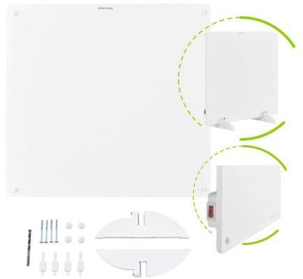 Juskys Infrarot Wandheizung mit 550 Watt für 39,95€ (statt 50€)