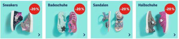 myToys mit 20% extra Rabatt auf alle Kinder Schuhe auch im Sale!