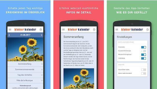 Kleiner Kalender PRO (Android) gratis statt 2,49€
