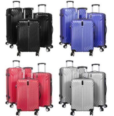 ABS Kofferset Palma 3 teilig für 89€ (statt 110€)