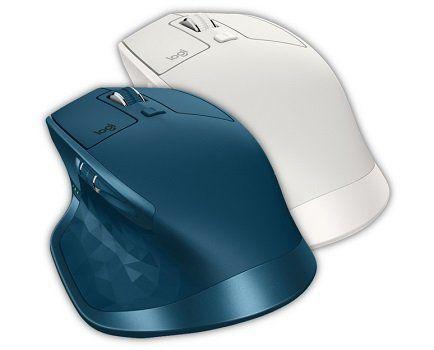 LOGITECH MX MASTER 2S Maus in Hellgrau für 55€ (statt 74€)