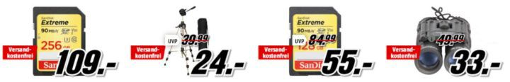 Media Markt Foto Late Night: z.B. PANASONIC Lumix DMC TZ81 LEICA Digitalkamera  für 288€