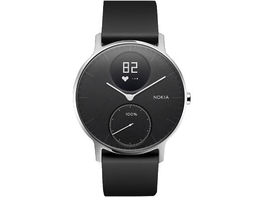 Nokia Steel HR   Fitnessuhr (36mm) mit Herzfrequenz  & Aktivitätsmessung für 129€ (statt 150€)