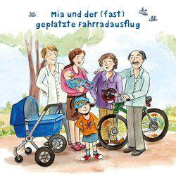 Mia und der (fast) geplatzte Fahrradausflug Cover