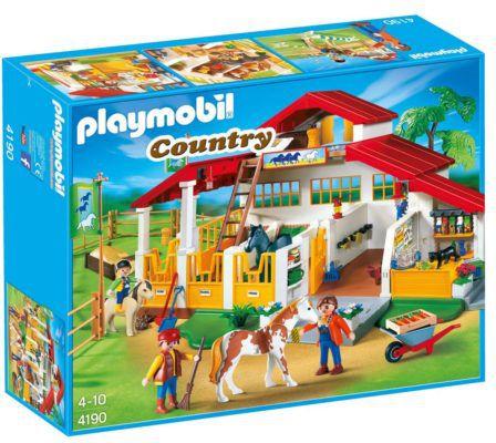 PLAYMOBIL 4190   Moderner Reiterhof Country ab 39,99€ (statt 69€)