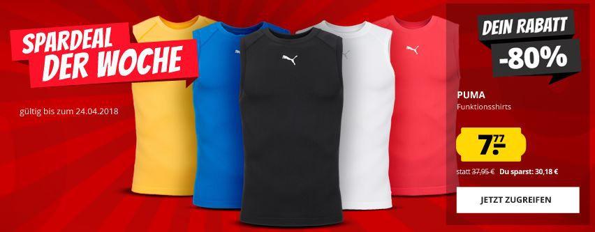 PUMA Pro Vent Baselayer Bodywear Funktions Shirt ab 7,77€