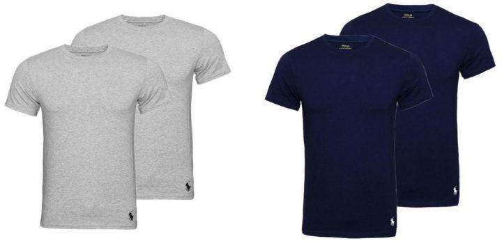 Ralph Lauren Herren Basic T Shirt im Doppelpack für 39,99€