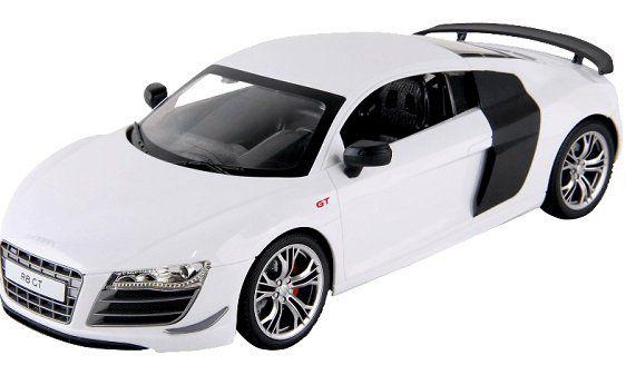 SIVA Audi R8 GT Weiß ferngesteuertes Auto für 28€ (statt 38€)