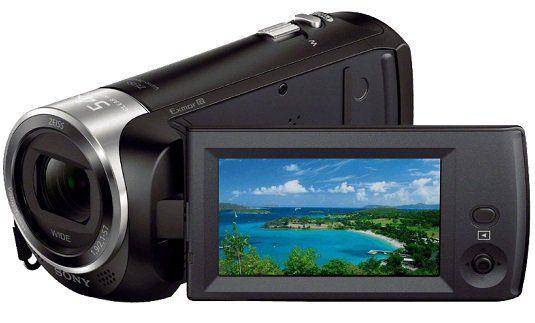 SONY HDR CX 240 EB FullHD Camcorder mit 27x Zoom für 144€ (statt 162€)