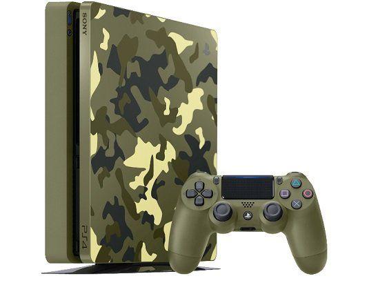SONY PlayStation 4 1TB Green Camouflage Call of Duty WWII Ltd. Edition für 288€ (statt 340€)