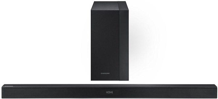 Samsung HW K450/EN Bluetooth Soundbar mit Subwoofer für 126,04€ (statt 188€)