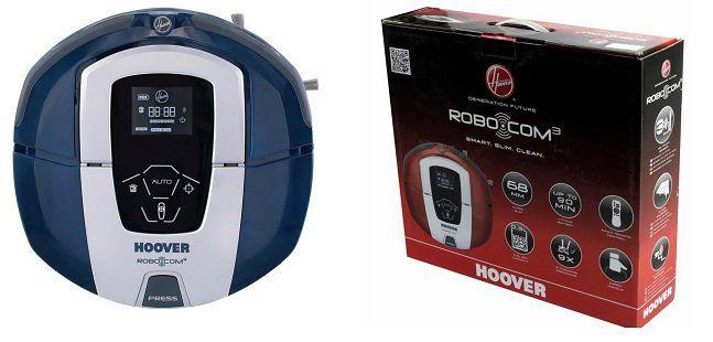 Hoover Saugroboter RBC030 in Blau für 129€ (statt 174€) + 20€ Cashback