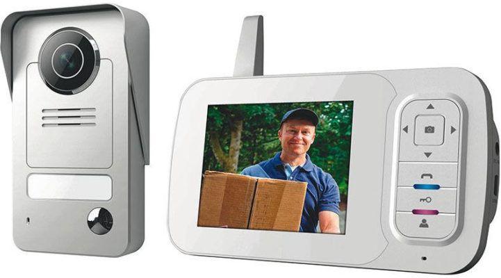 Smartwares VD38W Funk Video Türsprechanlage mit Bildspeicherfunktion für 119,95€