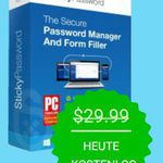 Sticky Password Premium (Windows/Mac) kostenlos
