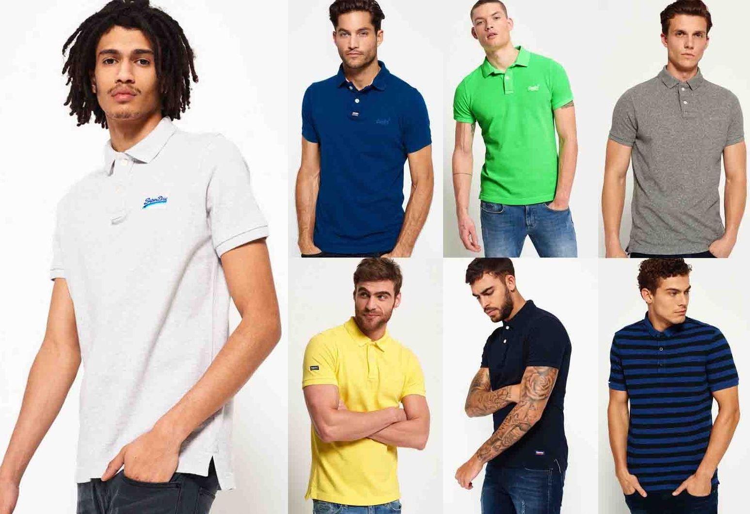Superdry Herren Poloshirts versch. Modelle und Farben bis 2XL ab 15,16€